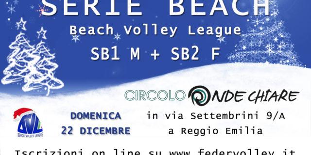 SB 1 M – SB2 F  22/12/19  Circolo Ondechiare – Reggio Emilia