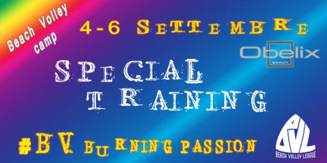 Special Training! Ecco la nuova data!